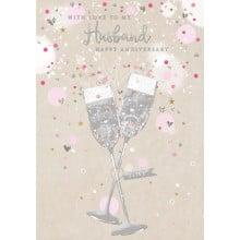 Greetings Cards Husband Anniversary