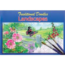 Traditional Doodles Book A4 4 Asst 48pg