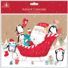 Cute Santa Advent Calendar