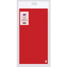 XD05702 Dunicel Tablecover Red