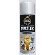 XD05011 Silver Spray Metallic 200ml