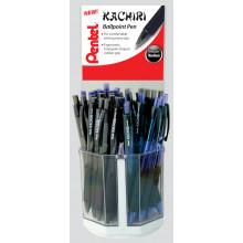 Pentel Kachiri Ballpens Blue/Black Disp.