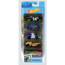 T2404 Hot Wheels 5 Car Gift Set Asst