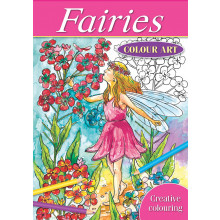 Fairies Colour Art Book