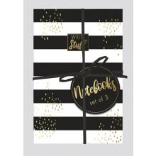 Tropical Noire 3 Notebooks Asst