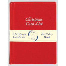 Christmas Card/Birthday Book