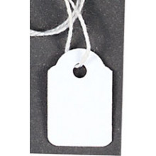 Tags Strung 13x20mm 150's