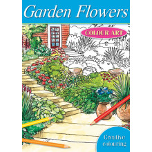 Garden Flowers Colour Art Book