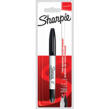 Sharpie Marker Pen Twin Tip Fine Black
