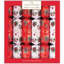 12x35cm Luxury Crackers 3 Assorted