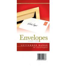 Envelopes Letterbox Large White 50s