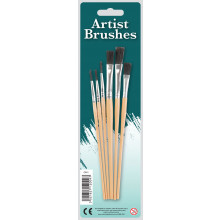 Artists Brushes 6s Assorted