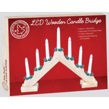 LED Pine Candle Bridge