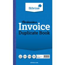 Silvine Carbonless Dupl. Invoice Book