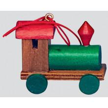 Set 6 Wooden Train Deca 18cm