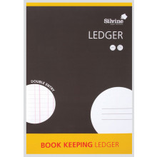 Silvine Book Keeping Ledger Double Entry