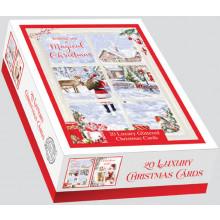 XD00608 Box 20 Santa's Visit Cards