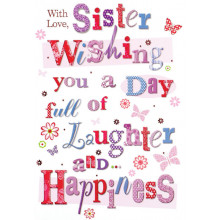 Greetings Cards Sister
