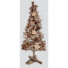 C2410 40cm Sparkle Twig Tree & Cones