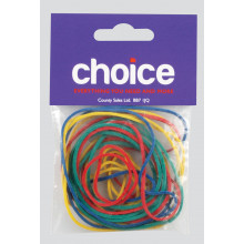 Choice Rubber Bands Assorted
