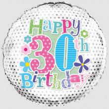 Foil Balloon Age 30 Female