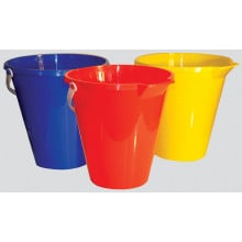 "Bucket with Pourer 23cm/9"" Assorted"