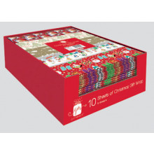 10 Sheet Wrap Pack
