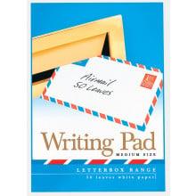 Pads Letterbox White Medium Airmail