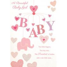 Greetings Cards Baby Girl