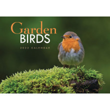 DD01008 A4 Calendar Garden Birds