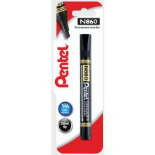 Pentel Chisel Tip Marker Black Carded