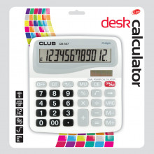 Desk Calculator Dual Power Assorted