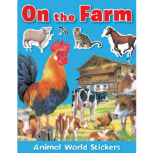 Animal World Sticker Books 4 Assorted AST1-4