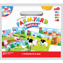 Farmyard Jigsaw Puzzle 4 in a Box