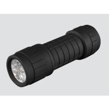 LED Black Rubber Torch