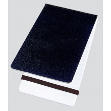 A6 Feint Banded Poly Notebook