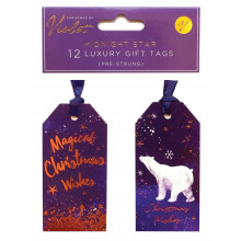 X2402 Gift Tags Midnight Star 12's