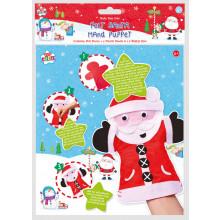 XD05112 Felt Santa Hand Puppet