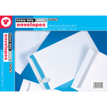White Envelopes C4 Heavy Duty 4s
