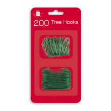 X3511 200 Green Tree Hooks