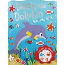 Books Colouring Daisy Dolphin