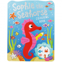 Books Colouring Sophie Seahorse