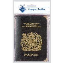 S9611 Passport Holders Black GB/NI