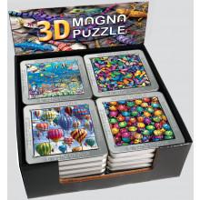 3D Magna Puzzles Assorted