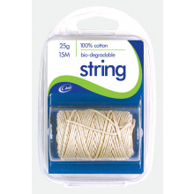 Cotton String Clam Pack 15m