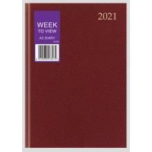 D0102 A5 WTV Desk Diary 3 Asst