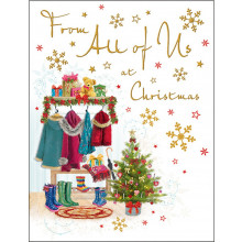 From All of Us Trad 60 Christmas Cards