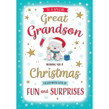 Gt.G'son Juv 75 Christmas Cards