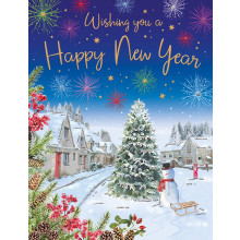 New Year Trad 60 Christmas Cards
