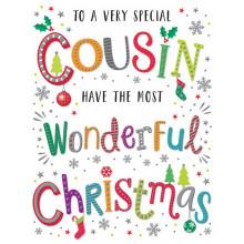 Cousin Neut 60 Christmas Cards